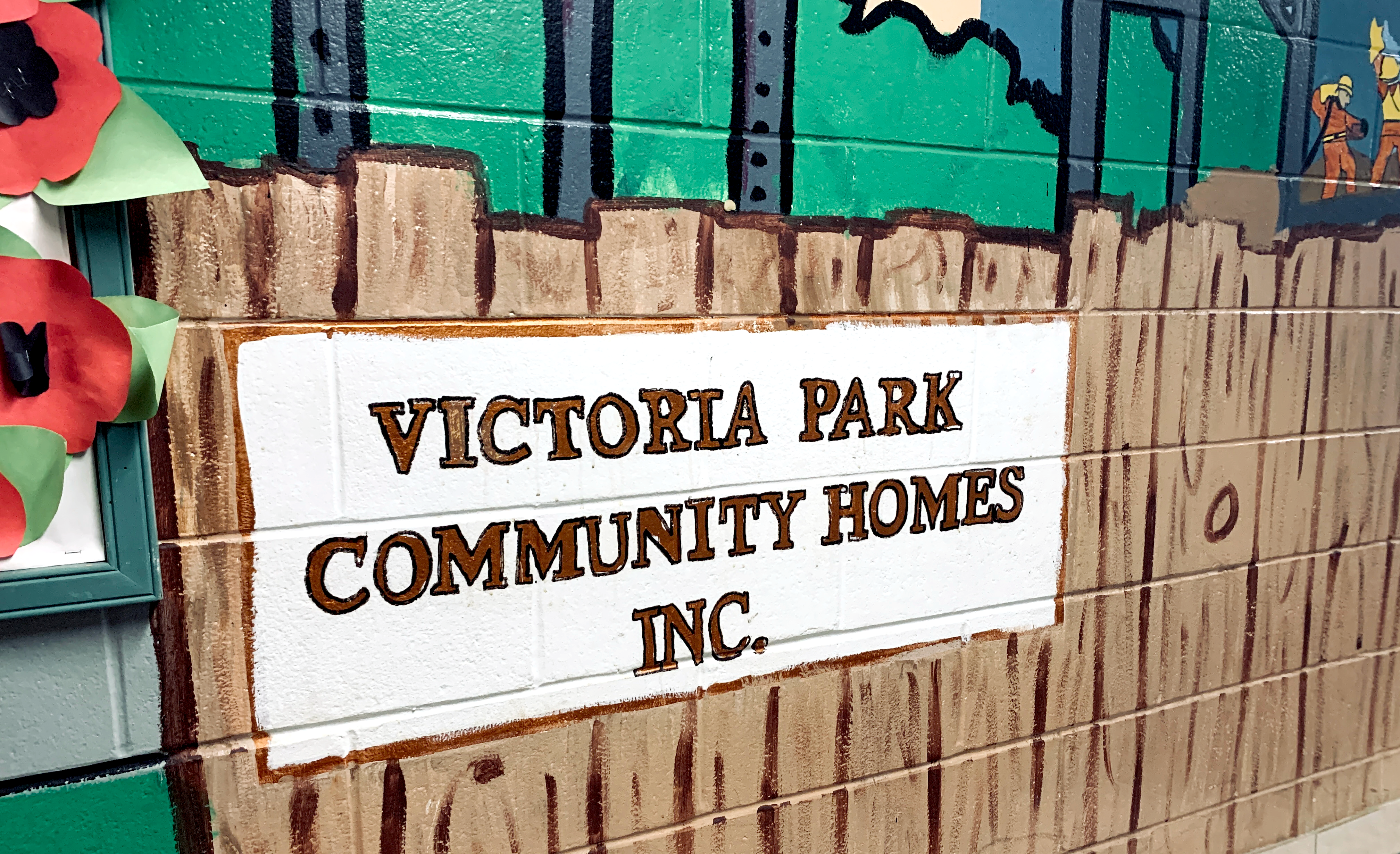 image: Victoria Park Mural at 155 Queen Street North